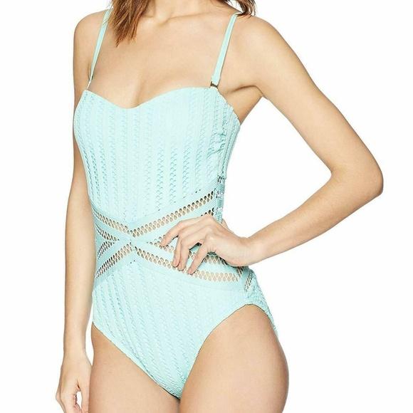 700b6111f7e Kenneth Cole Tough Luxe Crochet Bandeau Swimsuit. NWT. Kenneth Cole.  M_5cdb1c6ab146cc433e5ac8cd. M_5cdb1c6a248f7a912b17955e.  M_5cdb1c6affc2d42469ecb60e